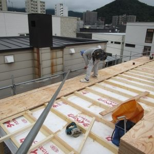 屋根2層目 1