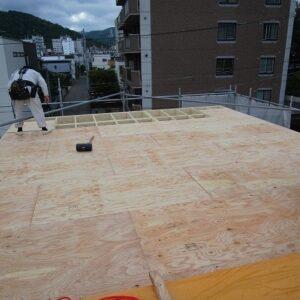 屋根1層目 1